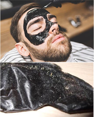 Black Mask Special (Buy 2 Get FREE Pimple Popper Tool) - Barber Clips