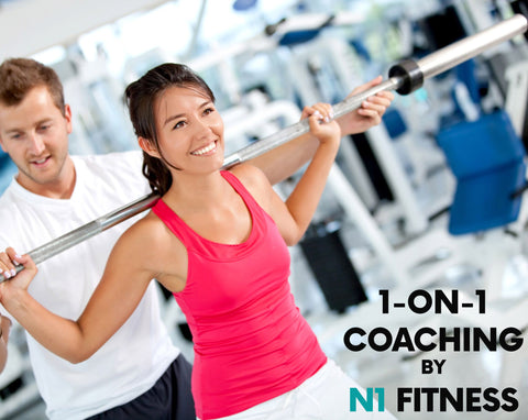 "1-on-1 FITNESS TRAINING PROGRAM / ""1 MONTH"""