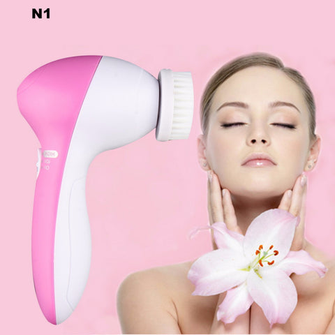 5in1 Body & Face Skin Care Cleaning BRUSH