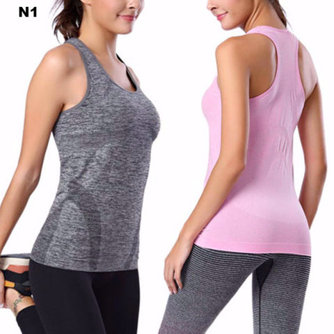 WOMEN Fitness Loose Comfy Fitting VEST