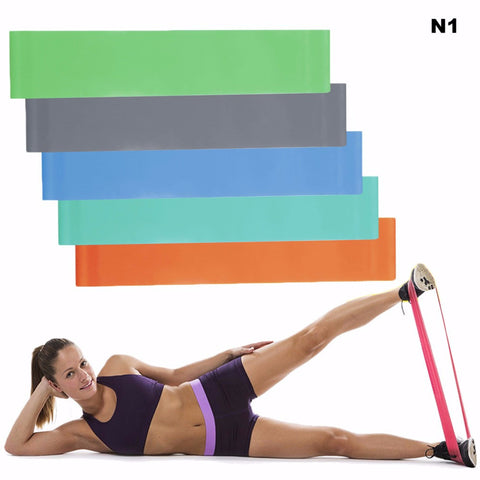 Yoga Fitness Elastic Latex Resistance BAND