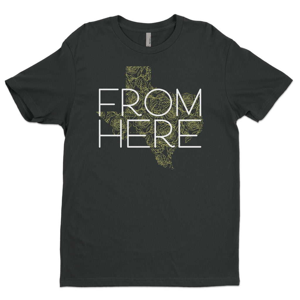 From Here Texas Yellow Rose T-Shirt