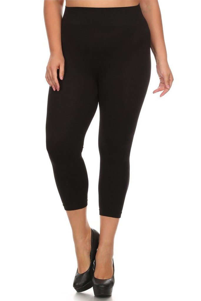 Capri Leggings Plus Size