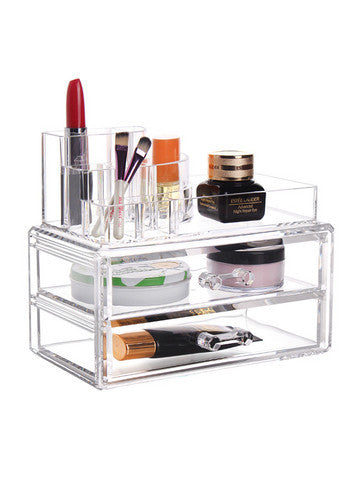 Double Layer Cosmetic Organizer