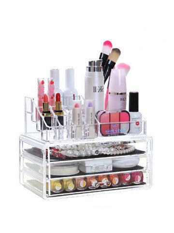 Triple Layer Cosmetic Organizer