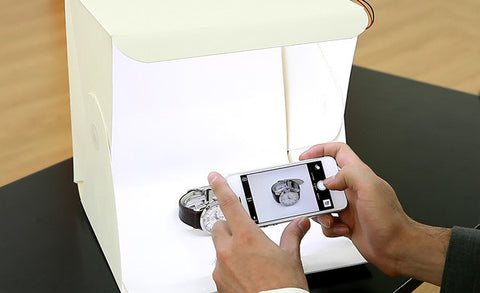 Foldable Lightbox Photo Studio