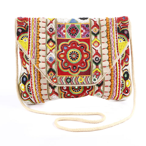 Balafia Red Clutch