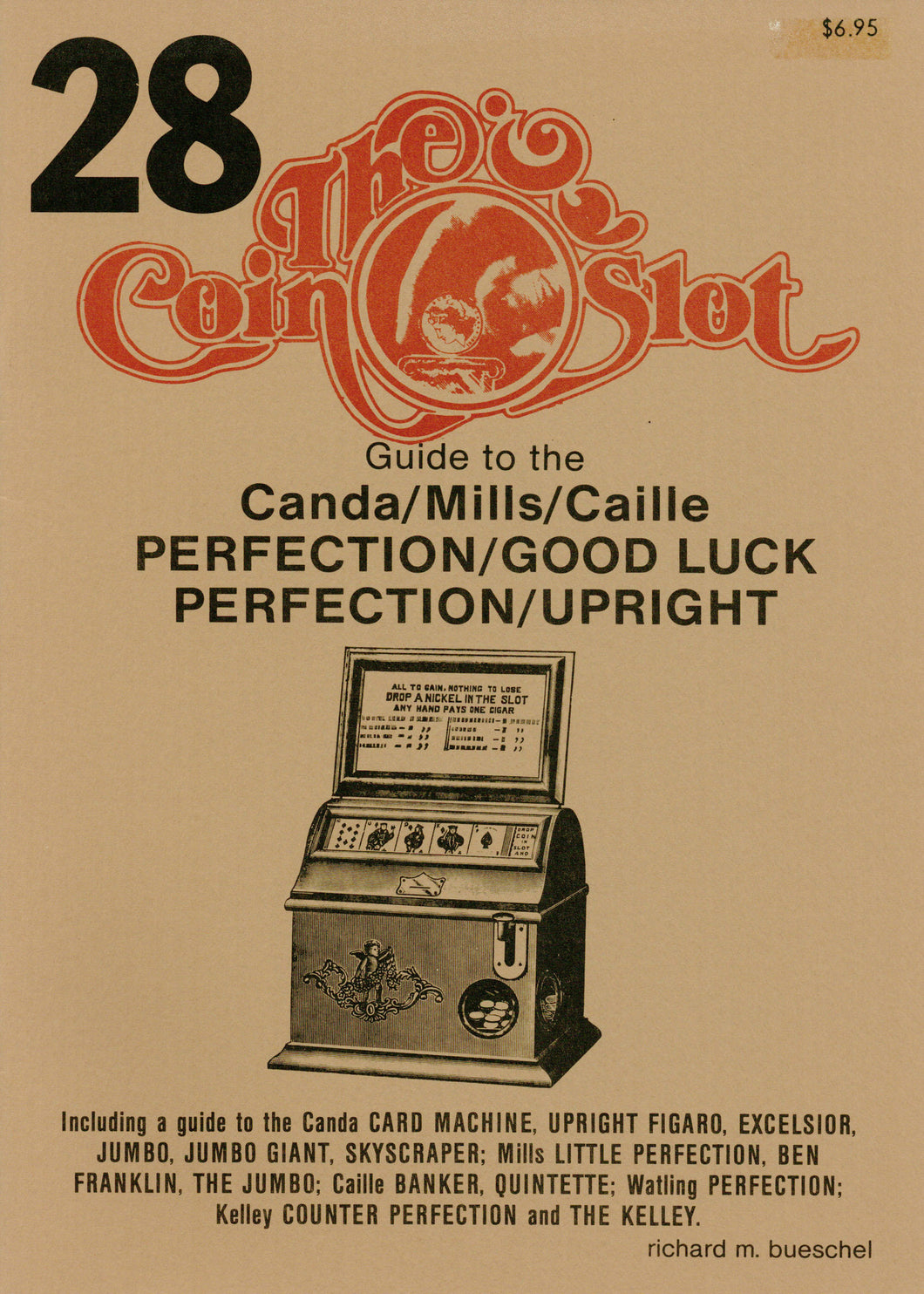 Coin Slot #28. Guide to the Canda/Mills/Caille Perfection/Good Luck Perfection/Upright