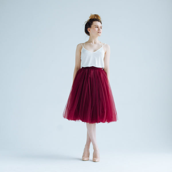 OVER THE KNEE Dracula Odile Skirt