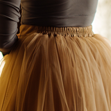 Iced Coffee Odile Skirt