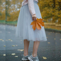 Gray Odile Skirt (IN STOCK)