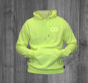 OG HOODY.  NEON YELLOW