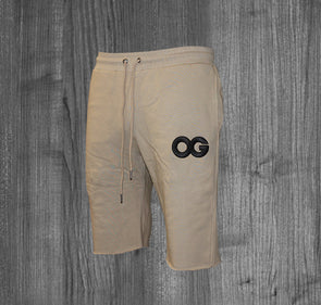 OG SHORTS.  BEIGE / BLACK