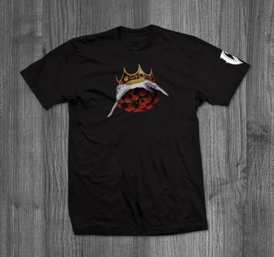 2 KINGS T-SHIRT.  BLACK