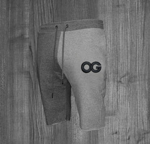 OG SHORTS.  HEATHER GREY & CHARCOAL GREY / BLACK