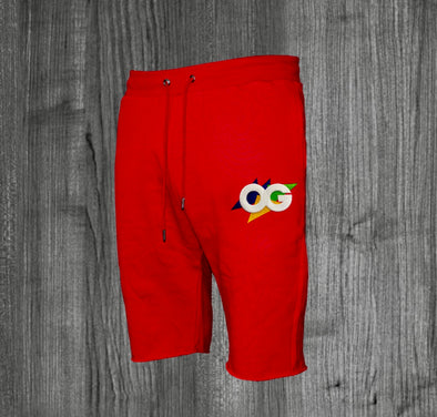 OG HARE SHORTS.  RED / WHITE, GREEN, PURPLE, YELLOW