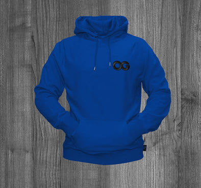 OG HOODY.  ROYAL BLUE / BLACK