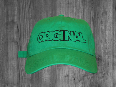 ORIGINAL DAD HAT.  KELLY GREN / BLACK
