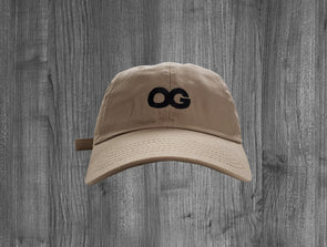 OG DAD HAT.  KHAKI / BLACK