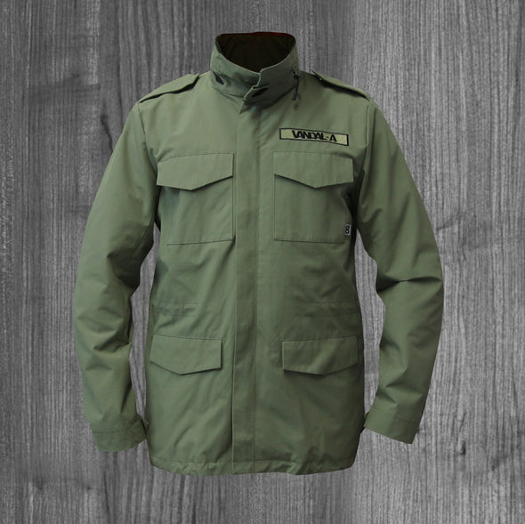 VANDAL-A M65 ARMY JACKET.  OLIVE