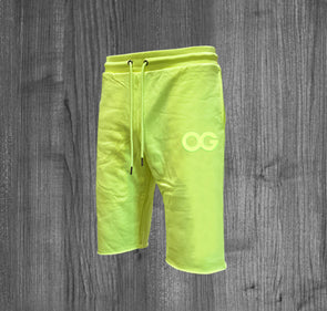 ORIGINAL SHORTS.  NEON YELLOW / BLACK REFLECTIVE