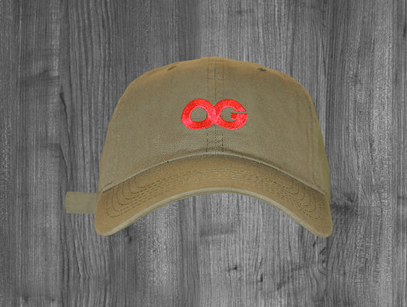 OG DAD HAT.  OLIVE GREEN / INFRARED