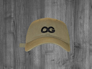 OG DAD HAT.  OLIVE GREEN / BLACK