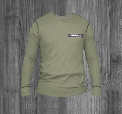 VANDAL-A THERMAL.  OLIVE / BLACK REFLECTIVE