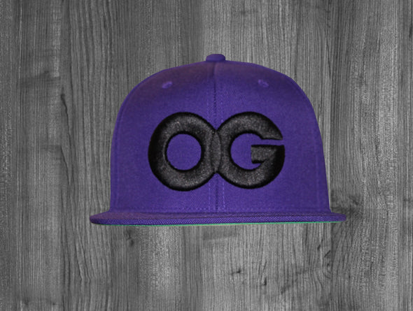 OG SNAP BACK.  PURPLE / BLACK