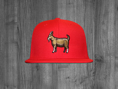 GOAT SNAP BACK.  RED
