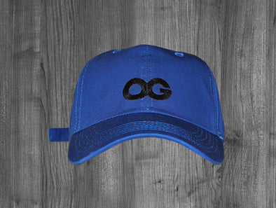 OG DAD HAT.  ROYAL BLUE / BLACK
