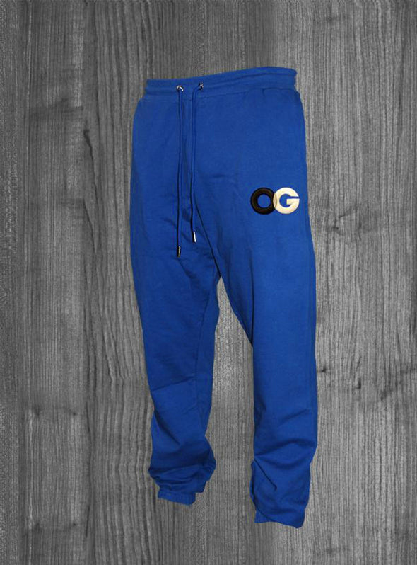 OG SWEATPANTS.  ROYAL BLUE / BLACK, GREY, WHITE