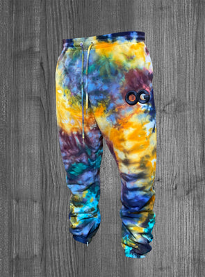 OG SWEATPANTS.  TIE DYE / BLACK