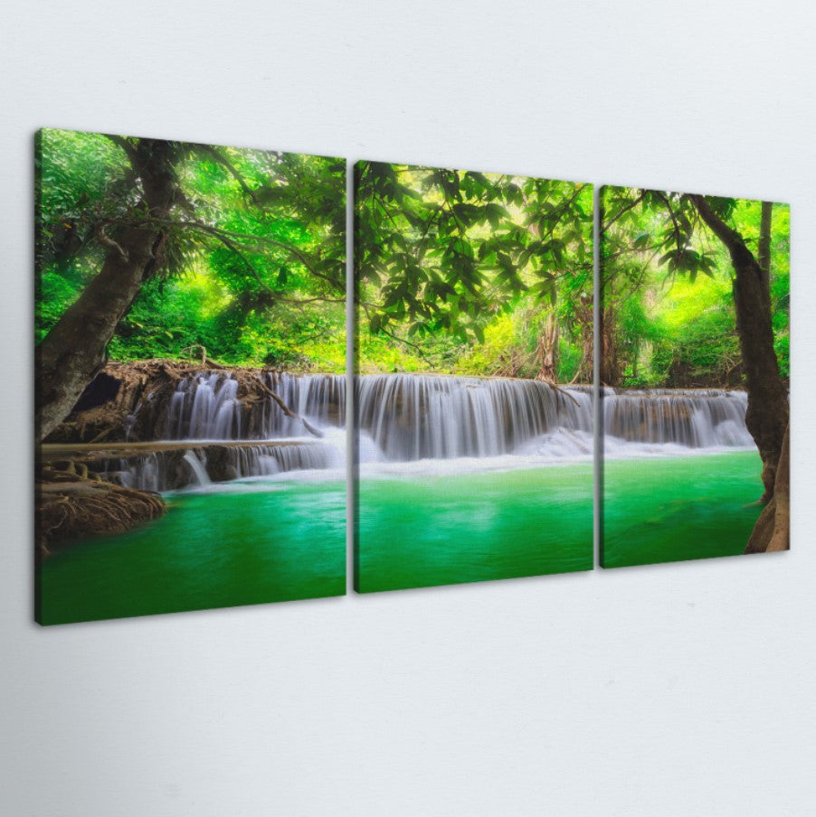 Oasis 3 Piece Canvas