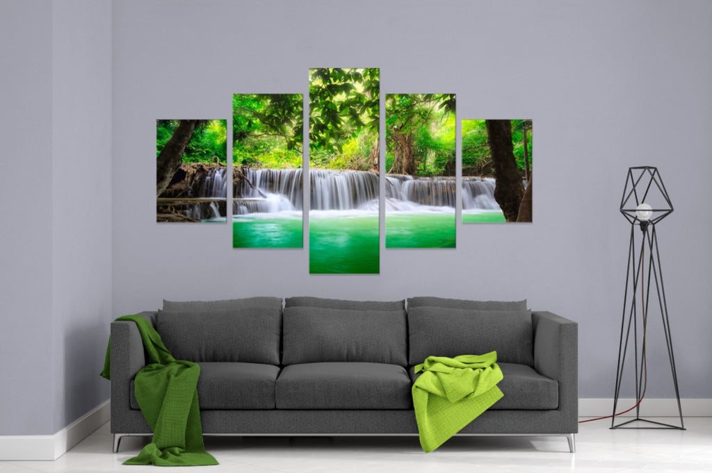 Oasis 5 Piece Canvas