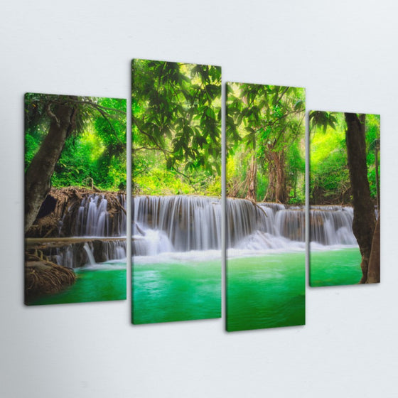 Oasis 4 Piece Canvas