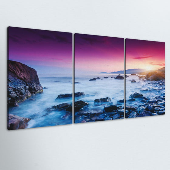 Morning Haze 3 Piece Canvas