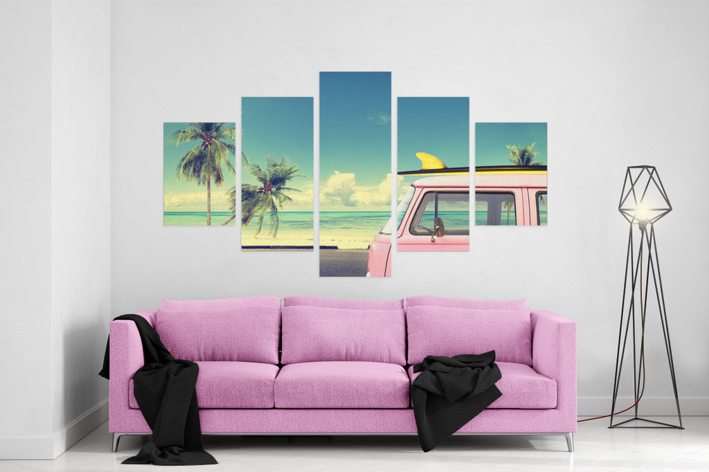 Nomadic Surfer 5 Piece Canvas