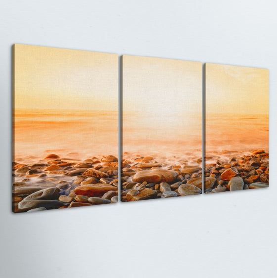 Ocean Front 3 Piece Canvas