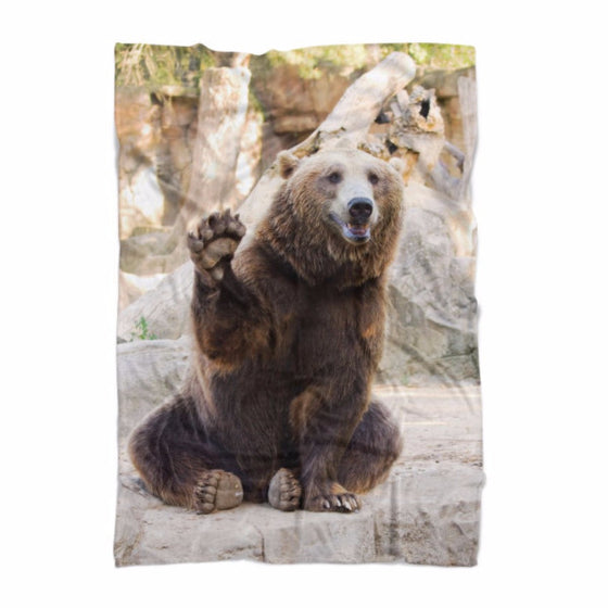 Waving Bear Blanket