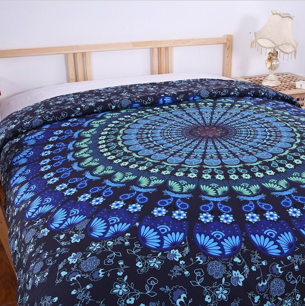 Blue Mandala Bedding