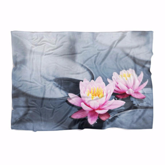 Lotus Flower Blanket