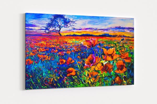 Pastel Field Single Canvas