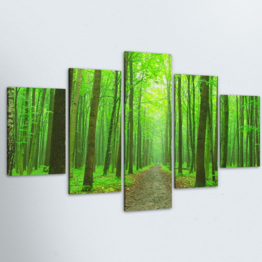 The Path 5 Piece Canvas