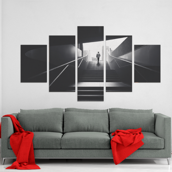 Staircase 5 Piece Canvas