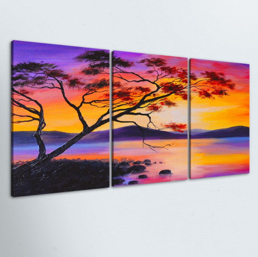 Tree Of Life 3 Piece Canvas
