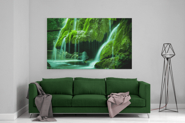Green Oasis Single Canvas