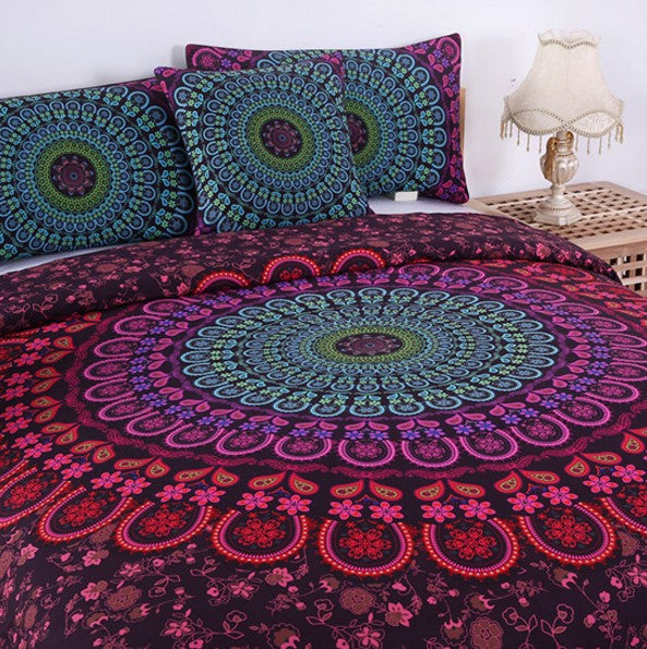 Purple Mandala Bedding