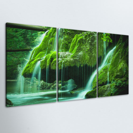 Green Oasis 3 Piece Canvas
