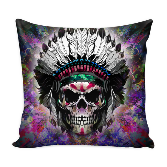 Chief Skull Pillow